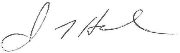 John Hamel signature